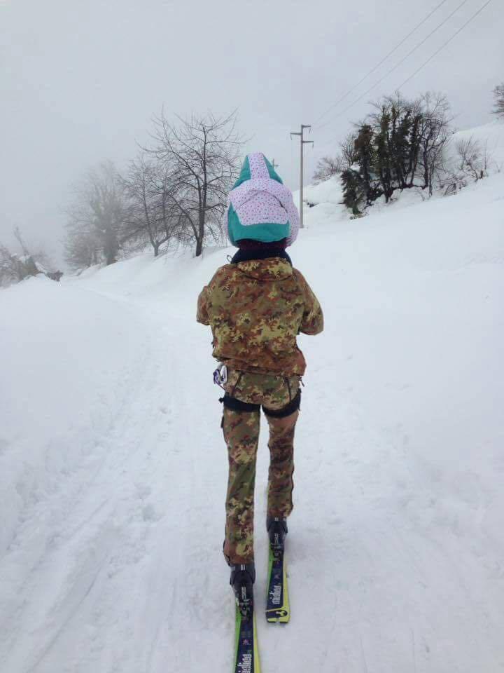 Francesco Lo Dico - militare bambina caserta