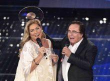 10/02/2015 Sanremo. 65 Festival della Canzone Italiana. Nella foto Romina Power ed Al Bano