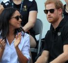 Prince Harry and Meghan Markle at the 2017 Invictus Games in Toronto, Canada. PRESS ASSOCIATION Photo. Picture date: Monday September 25, 2017. Photo credit should read: Danny Lawson/PA Wire